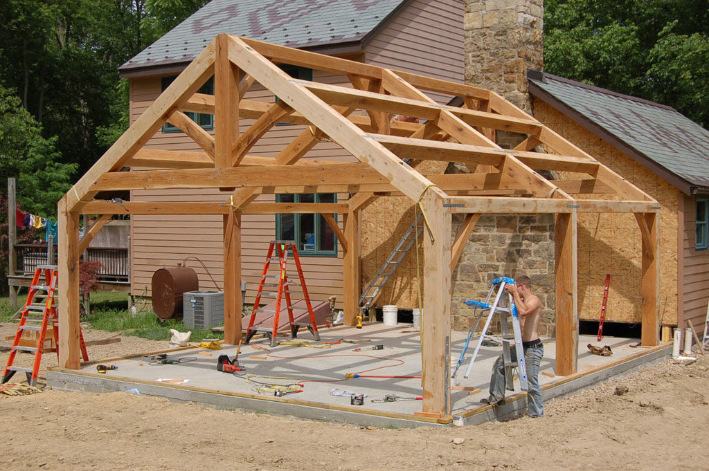 Custom Timber Frame Addition