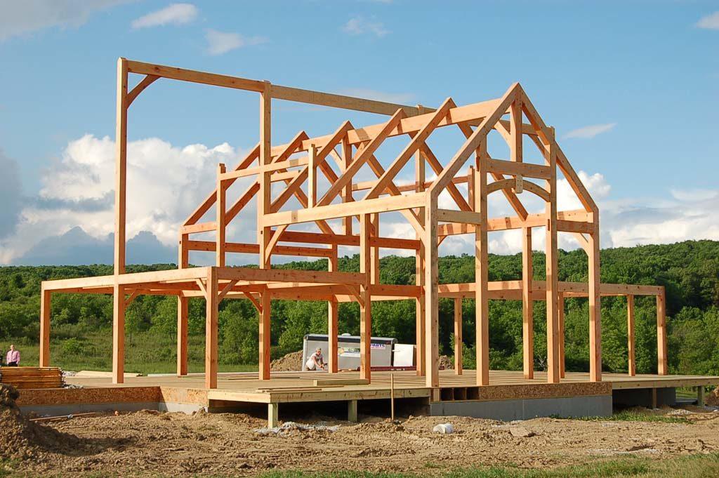 Custom Timber Frame Home Process