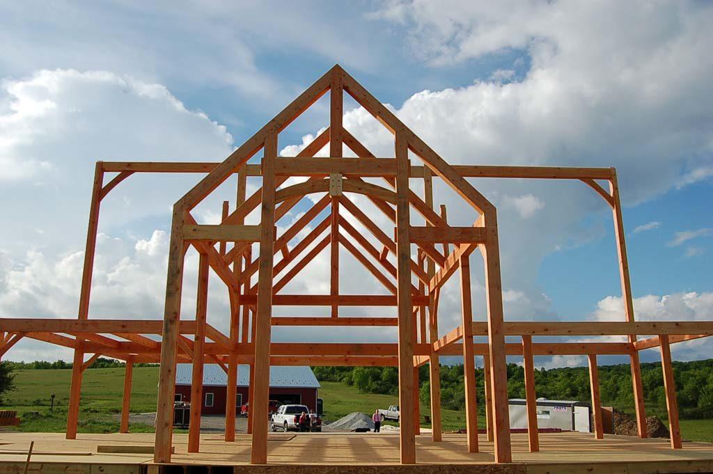 Custom Timber Frame Home Builder