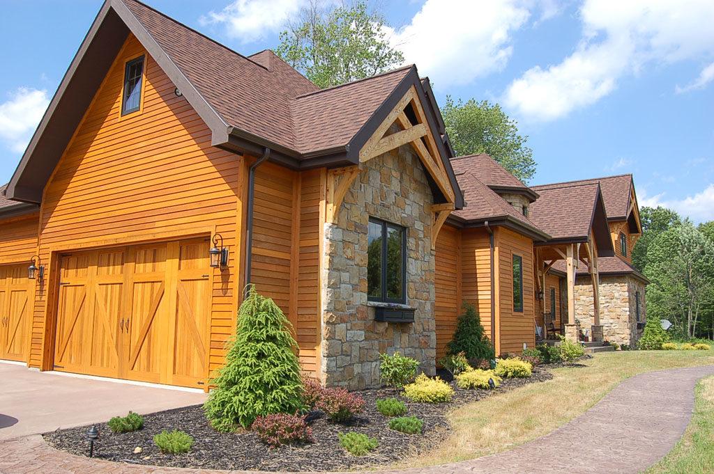 Custom Timber Frame Home Plans