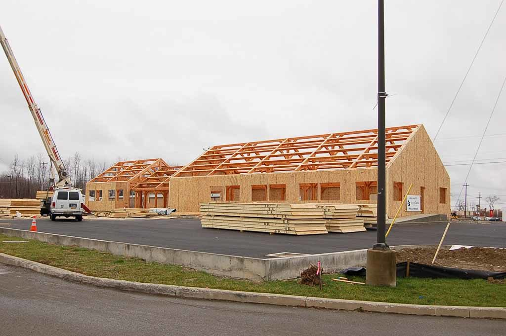 Timber Frame Structure Commercial