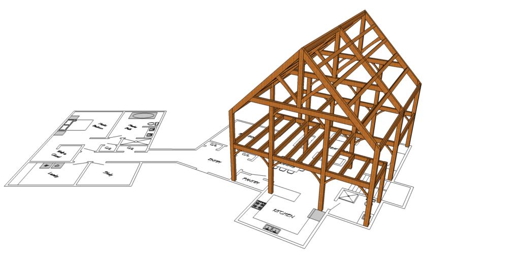 Coolsprings Floorplan 3d model