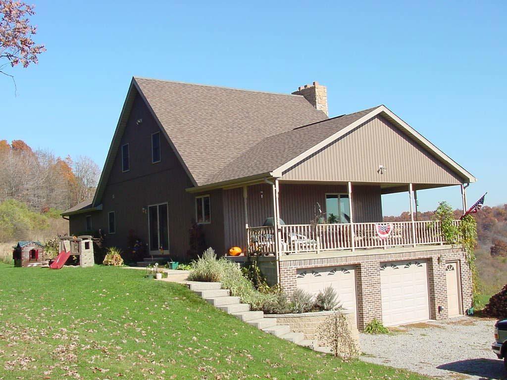 Robin home plan finished elevation