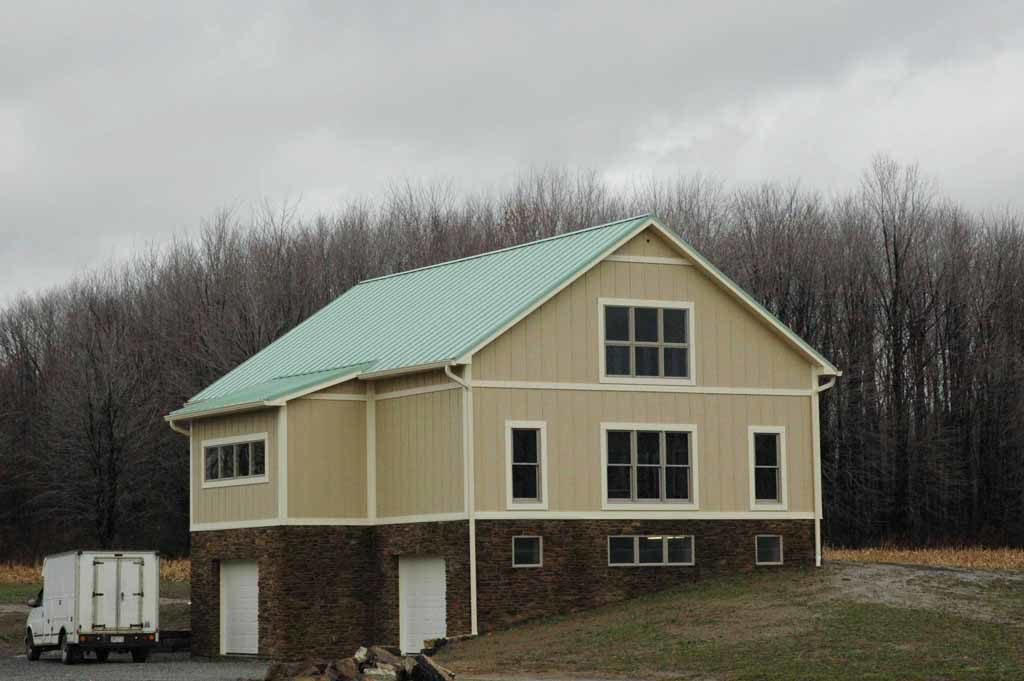 Custom Timber Frame Barn