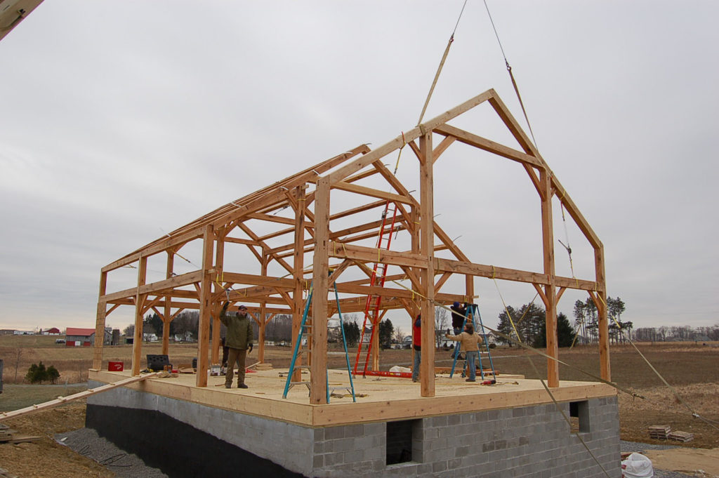 Timber Frame Barn Builders
