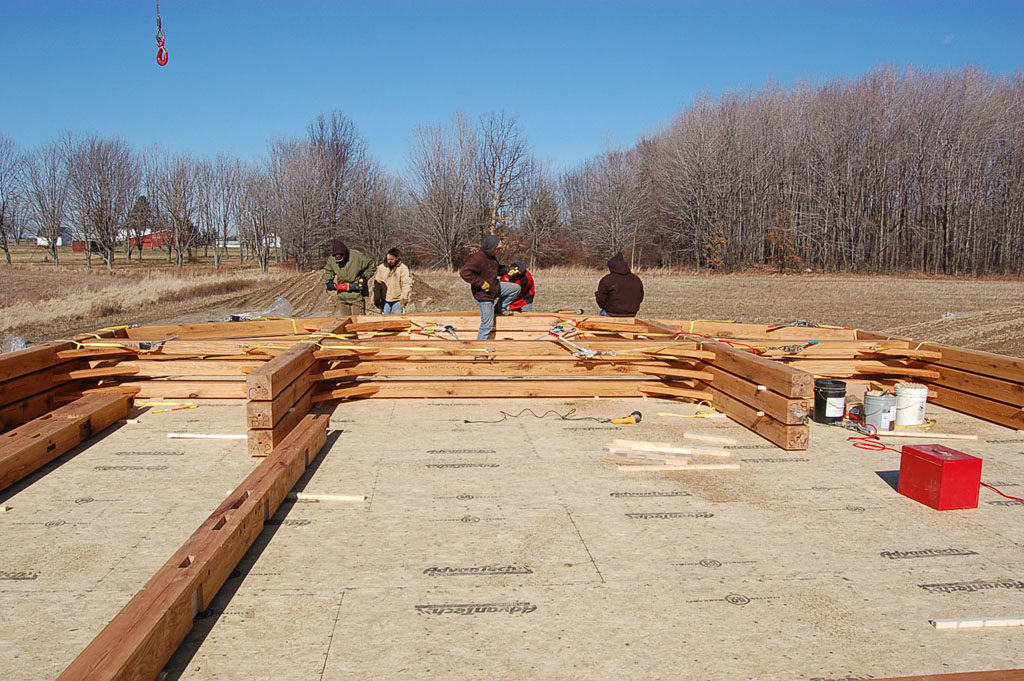 Timber Frame Barn Process