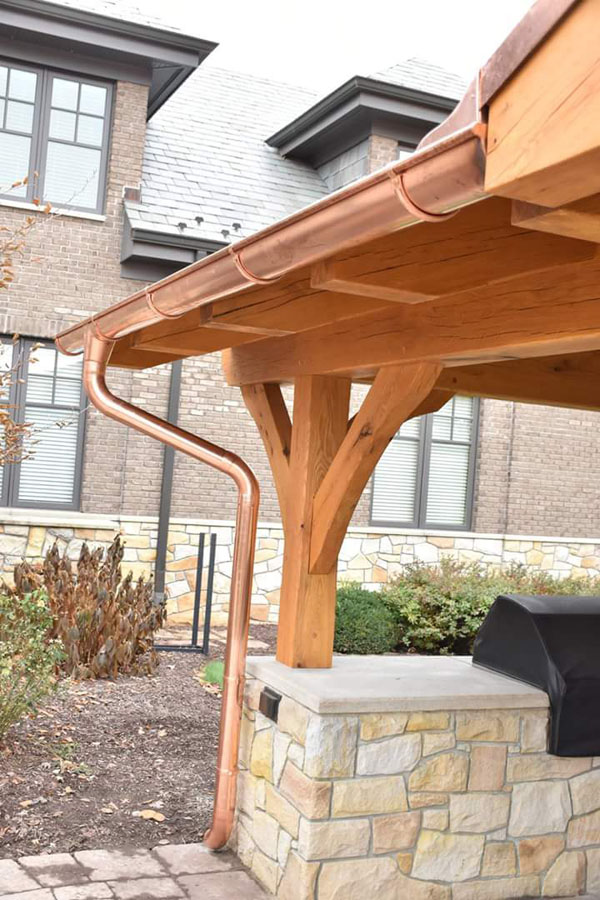 Timber Frame Custom Pavilion