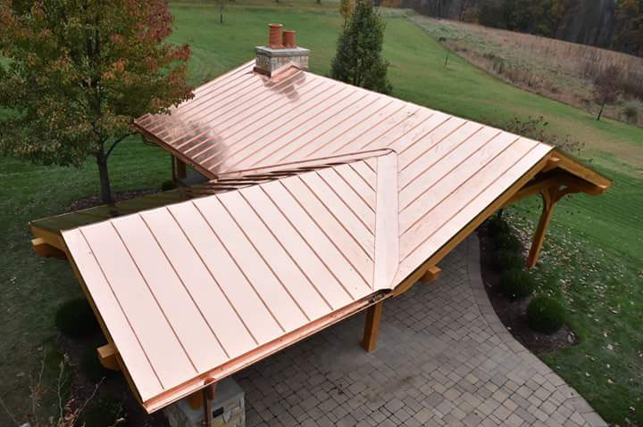 Copper Roof Pavilion