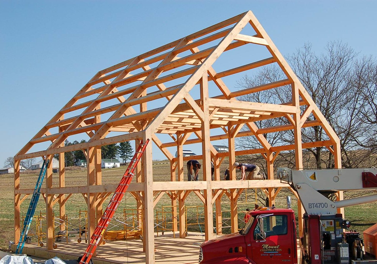 timber frame kits mercer