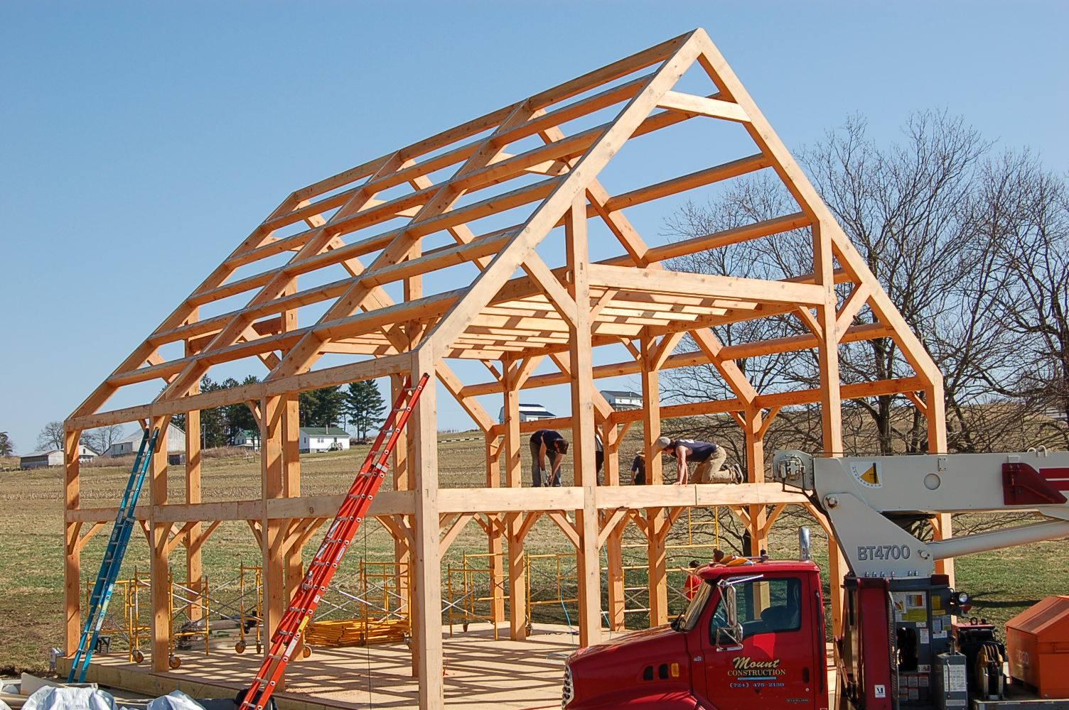 timber frame kits mercer