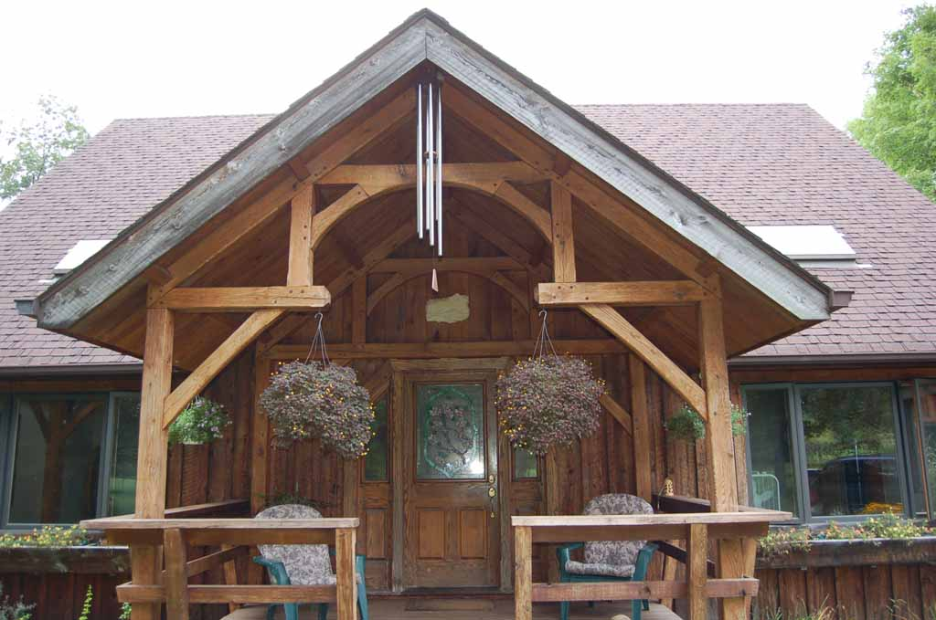 Timber Frame Porch Addition